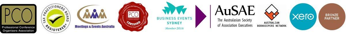 TAS affiliations logos